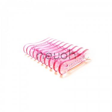 Poggia pennelli rosa